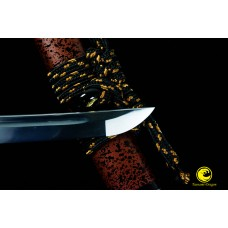 Handmade Japanese Iaido Training Sword Katana Unsharp Full Tang Blade