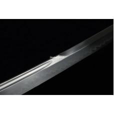 Japanese Samurai Katana Sword Clay Tempered T10 Steel Unokubi Zukuri Razor Sharp Blade