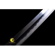 Battle Ready Clay Tempered Japanese Katana Sword T10 Folded Steel Kobuse Blade Razor Sharp