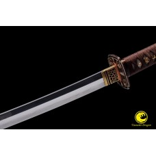 Battle Ready Clay Tempered Japanese Katana Sword T10 Folded Steel Kobuse Blade Razor Sharp