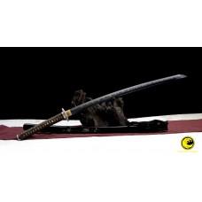 Hand Forged Clay Tempered Japanese Samurai Kobuse Blade Katana Sword Razor Sharp