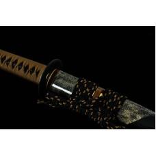 Japanese Samurai Sword Clay Tempered T10 Choji Hamon Blade Katana Swords