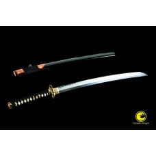 Japanese Samurai Sword Wakizashi Clay Tempered Honsanmai Blade Hazuya Polish