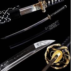 Battle Ready Clay Tempered T10 Steel Blade Japanese Katana Samurai Swords