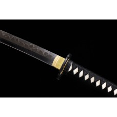 Hand Forged Japanese Katana Swords Clay Tempered T10 Steel Choji Hamon Samurai Sword Razor Sharp Blade