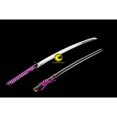 Battle Ready Japanese Razor Sharp 9260 Spring Steel Katana Sword Full Tang Tameshigiri