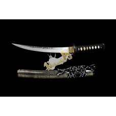 Clay Tempered T10 Steel Katana Swords Samurai Tanto Sword Razor Sharp Blade