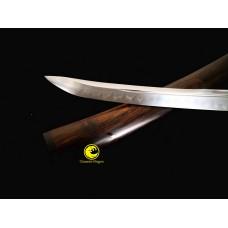 Clay Tempered Battle Ready Top Quaity Unokubi Zukuri Janpanese Samurai Tanto Shirasaya