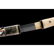 Janpanese Tanto Shobu Zukuri T10 Folded Steel Kobuse Blade Sword