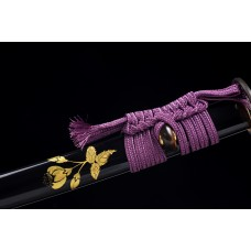 Razor Sharp Battle Ready Clay Tempered L6 Steel Blade Japanese Katana Samurai Sword