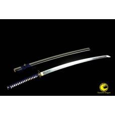 Battle Ready Oil Quench Folded Steel Japanese Katana Samurai Sword Full Tang